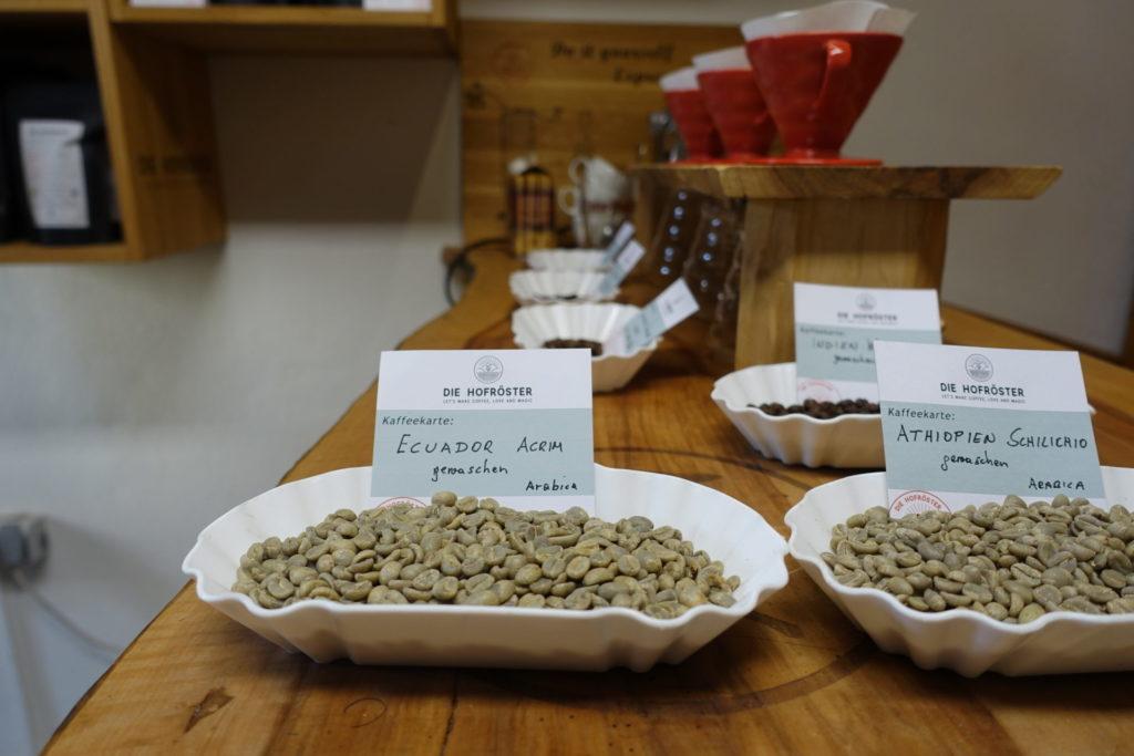Bio-Kaffee - Rohkaffee